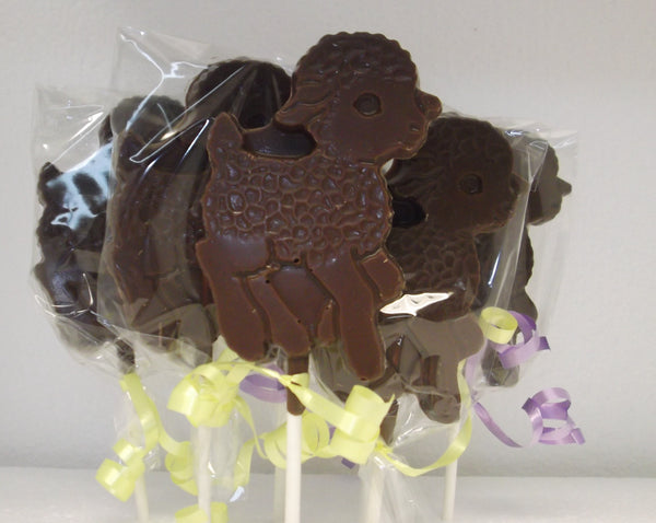Chocolate Lamb Lollipop