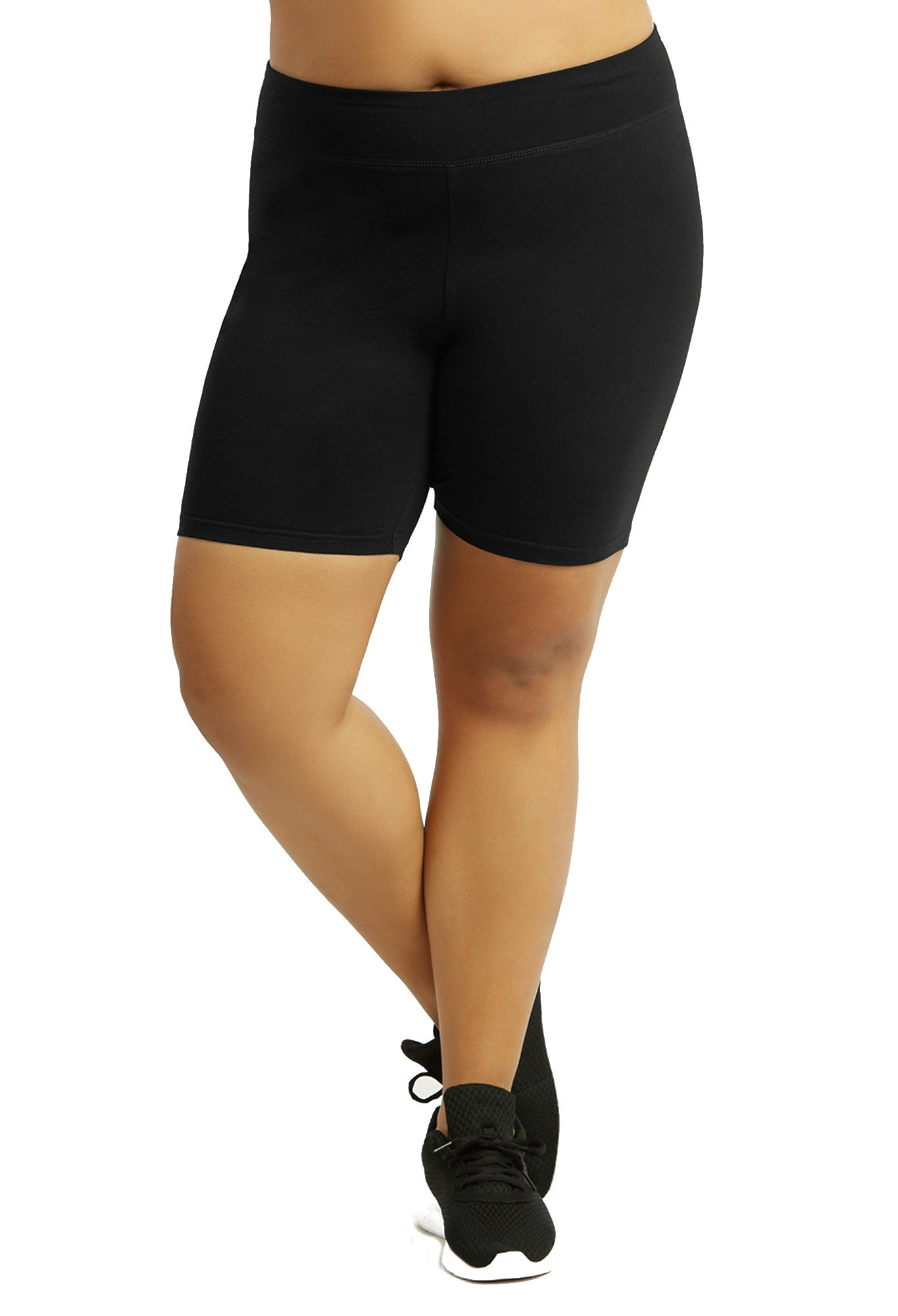 Womens Bike Shorts,Womens plus size shorts,Womens plus size activewear,Womens Black Bike Shorts,Womens plus size workout clothes