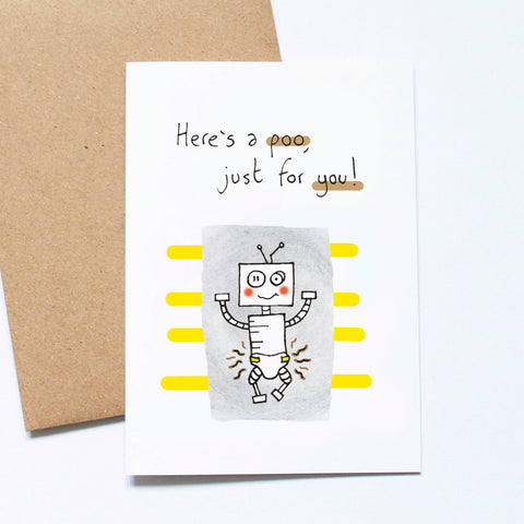Poo for You - Mother's Day Card
