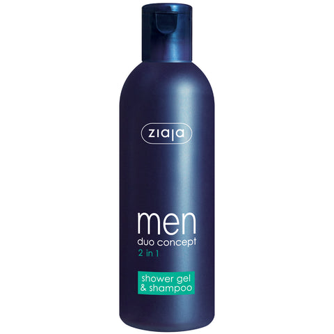 Men Shower Gel and Shampoo 2 in 1