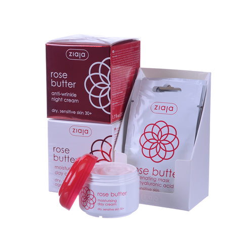 Rose Butter - Special Bundle - Day, Night and 5 Face Masks