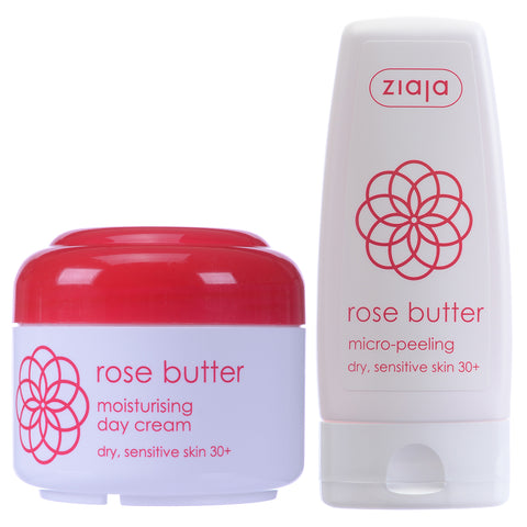 Rose Butter Day Cream & Micro-Peeling - Clearance 50% off