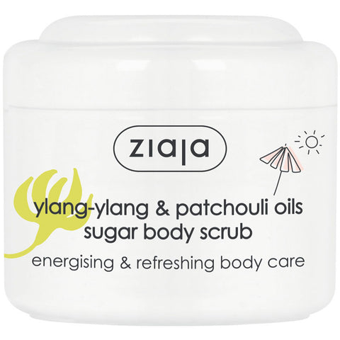 Ylang-Ylang & Patchouli oils Sugar Body Scrub
