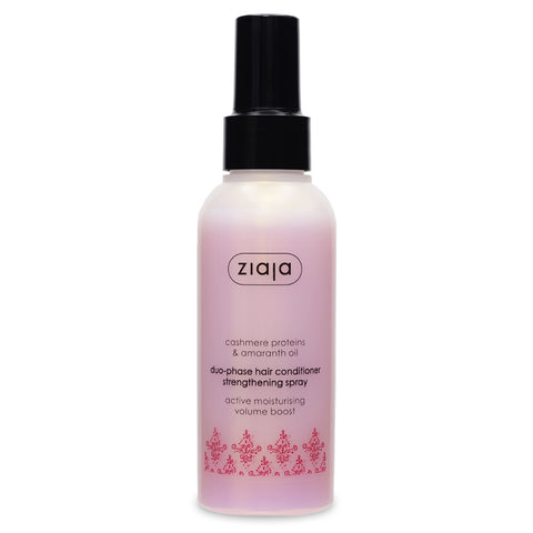 Cashmere Proteins and Amaranth Oil - Duo-Phase hair conditioner spray