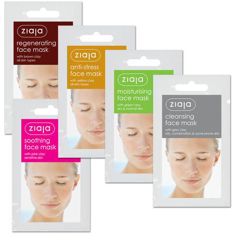 Clay Face Mask - Sample Pack