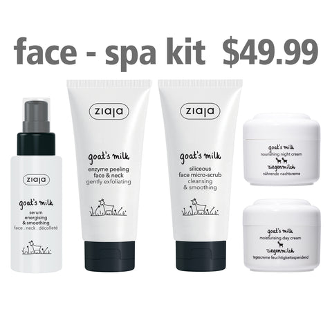 Goat's Milk Face Spa Kit