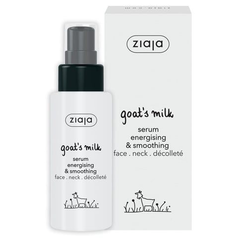 Goat's Milk Serum Energising and Smoothing - New!