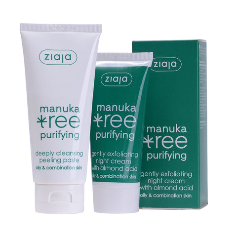 Manuka Tree Night Cream & Peeling Paste - Clearance 50% off