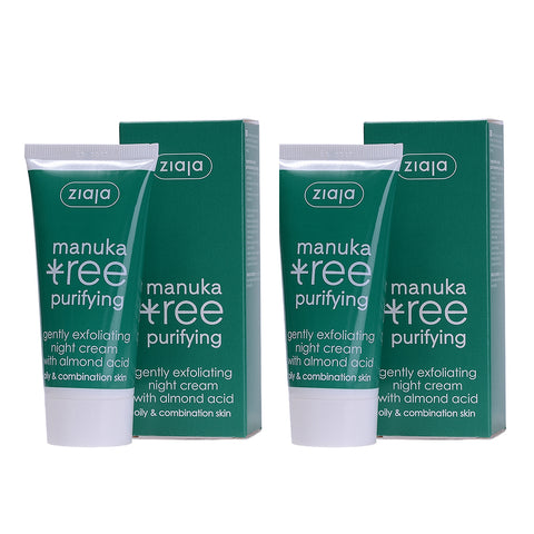 Manuka Tree Night Face Cream (Double Pack) - Clearance 50% off