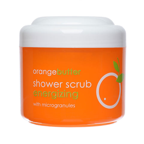 Orange Butter Shower Scrub