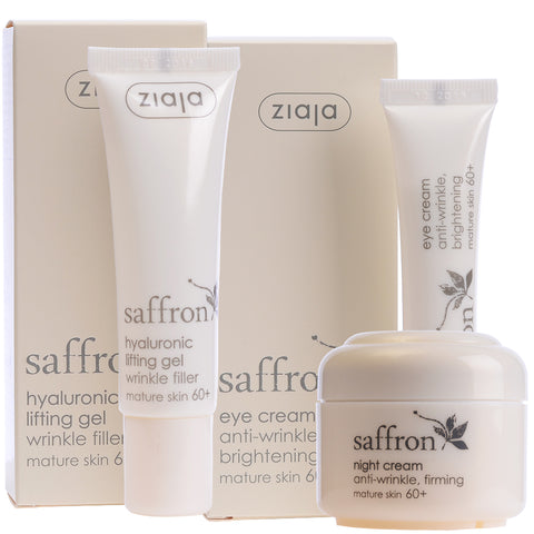 Saffron Bundle: Night Cream, Eye Cream & Serum