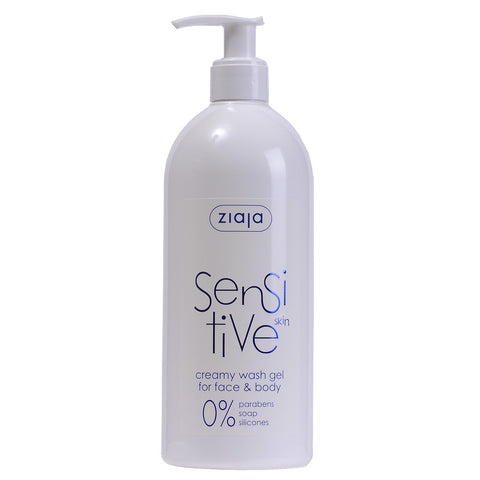 Sensitive Skin - Creamy Wash Gel for Face and Body