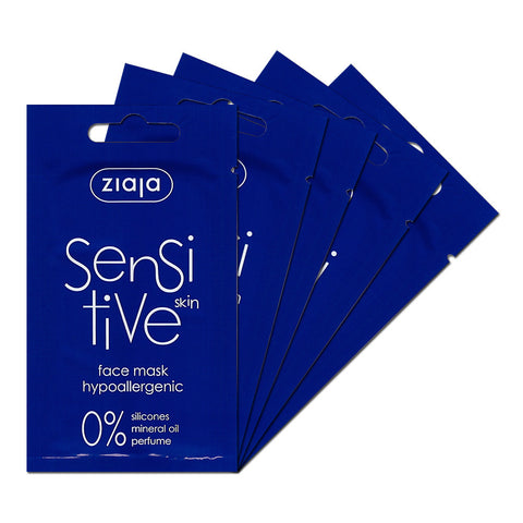 Sensitive Skin Face Mask - Pack of 5