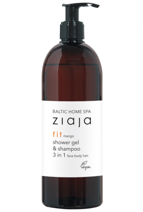 Baltic Home Spa fit - Shower Gel and Shampoo 3 in 1, face body hair