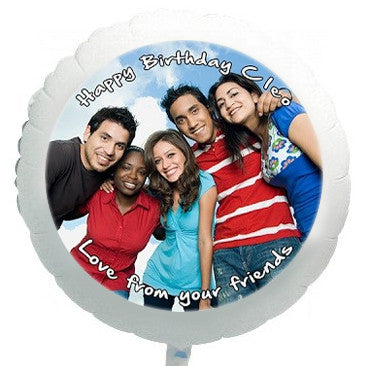 22'' full color photo balloon