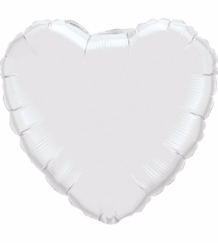 18'' Heart Mylar Balloon