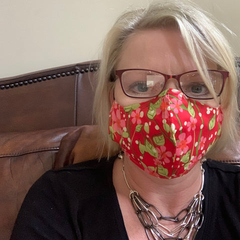 Print Fabric Face Masks