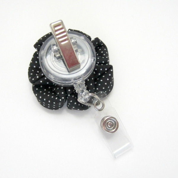 Modern Petal  Flower Retractable Badge Reel, ID Holder, Lanyard - Hold It!