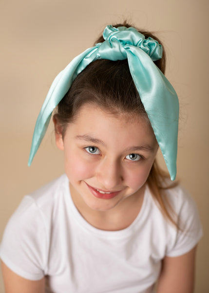 Satin Scrunchies - Over 30 Colors to Choose From - Hold It!