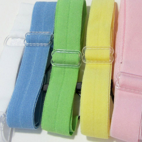 Adjustable Elastic Headband-Set of 5 Pastels - Hold It!