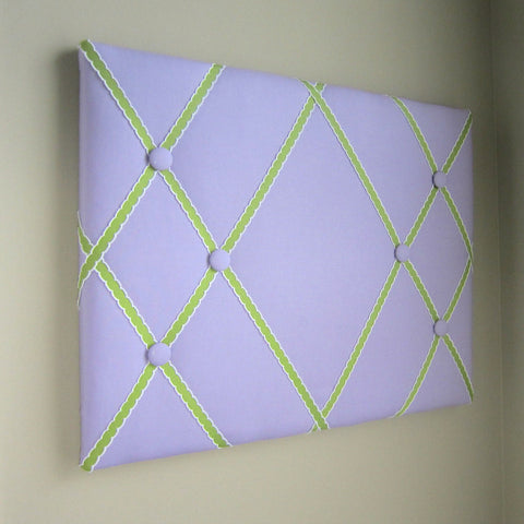 "16""x20"" Memory Board or Bow Holder-Lavender & Lemongrass - Hold It!"