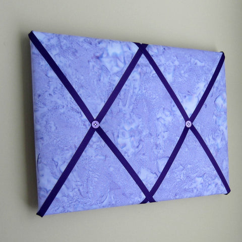 "11""x14"" Memory Board or Bow Holder-Shaved Ice Purple - Hold It!"