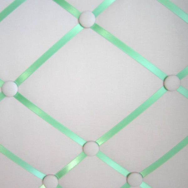 "16""x20"" Memory Board or Bow Holder-Pink & Mint Green"