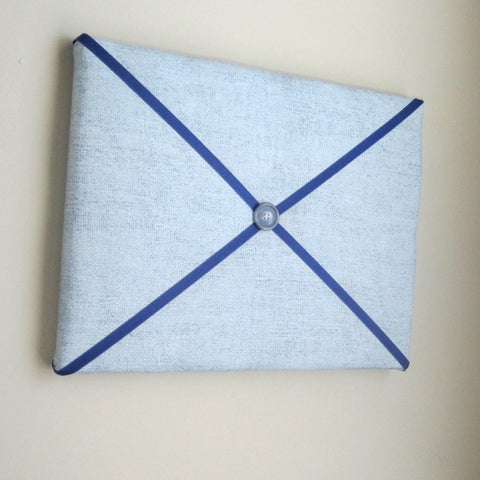 "11""x14"" Memory Board or Bow Holder-Gunmetal Grey & Navy - Hold It!"
