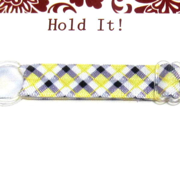 Tartan Plaid You Pick Individual Adjustable Headband For Babies, Toddlers, Women - Hold It!