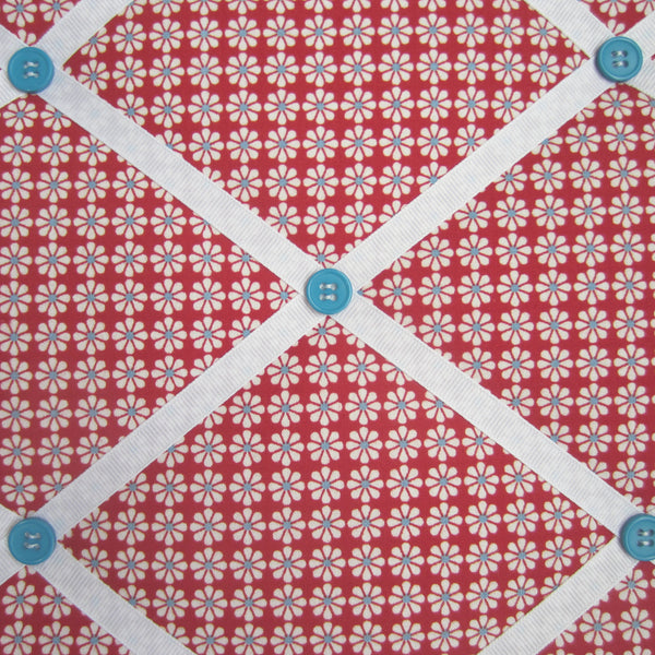"11""x14""  Memory Board or Bow Holder-Daisy Bloom Red - Hold It!"