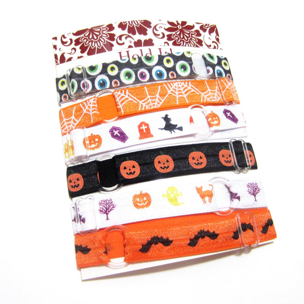 Set of 6 Adjustable Headbands - Halloween - Hold It!