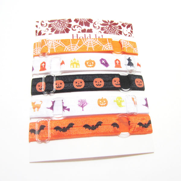 Set of 5 Adjustable Headbands - Halloween - Hold It!