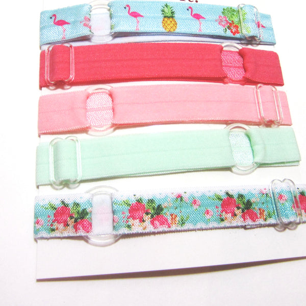 Set of 5 Adjustable Headbands - Spring Pineapple - Hold It!