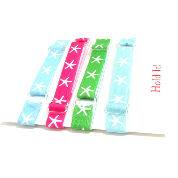 Starfish-Individual Adjustable Headband -Choose Your Own Colors! - Hold It!