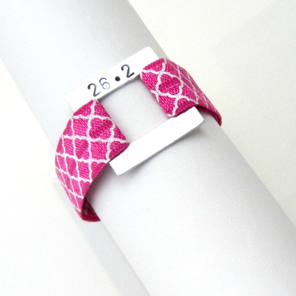 Distance Bracelet - Prints - Pick Your Distance and Color! - Hold It!