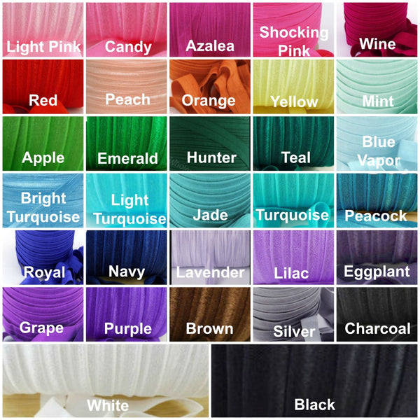 Individual Adjustable Headband - 50 Colors to Choose From