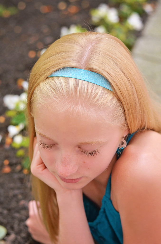Glitter Frost Individual Adjustable Headband - 10 Colors to Choose From - Hold It!