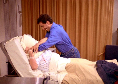 seinfeld smothering someone with a pillow is like undertreated sleep apnea