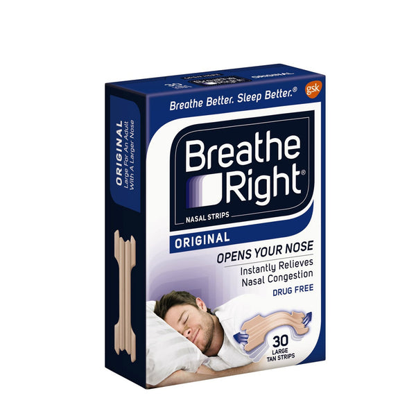 GSK Default Title Breathe Right Nasal Strips - Original