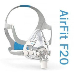 AirFit F20 Full Face CPAP Mask with Headgear from ResMed
