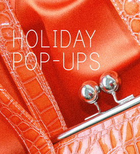 HOLIDAY POP-UPS