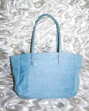 SAMPLE SALE - DENIM TOTE