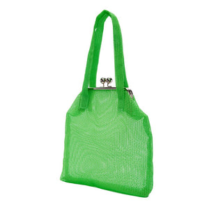 WARP LIME HANDBAG