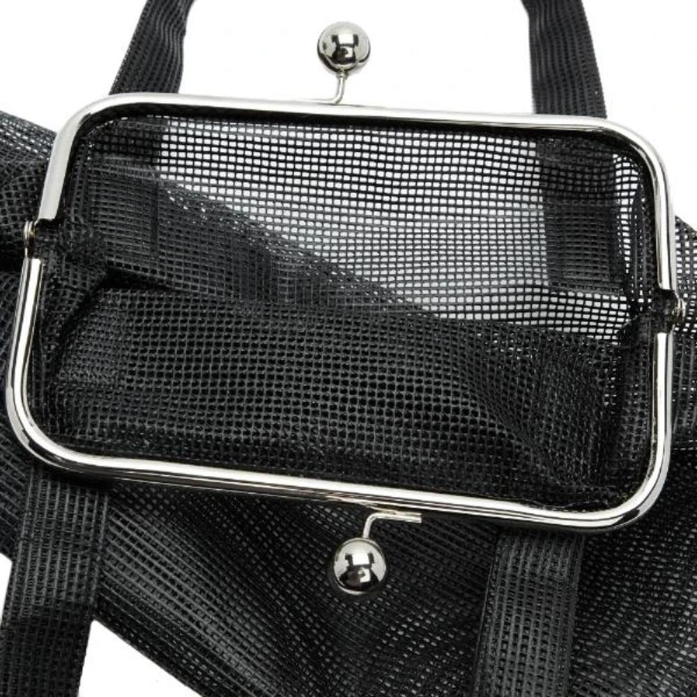 BLACK BETA HANDBAG