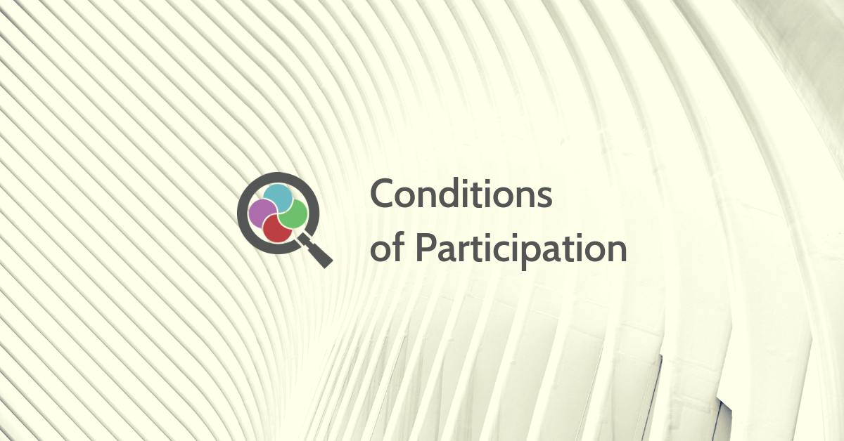 Conditions of Participation