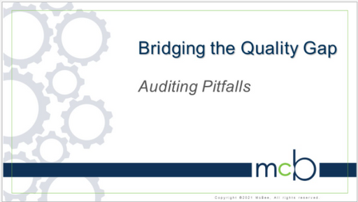Bridging the Quality Gaps: Pitfalls