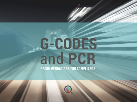 G-Codes and PCR
