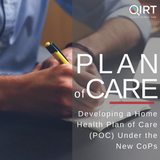 Developing a Plan of Care under CoPs Home Health Care