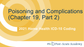 2021 Home Health ICD-10 Coding -  Poisoning and Complications (Chapter 19, Part 2)