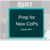 Prep for New CoPs